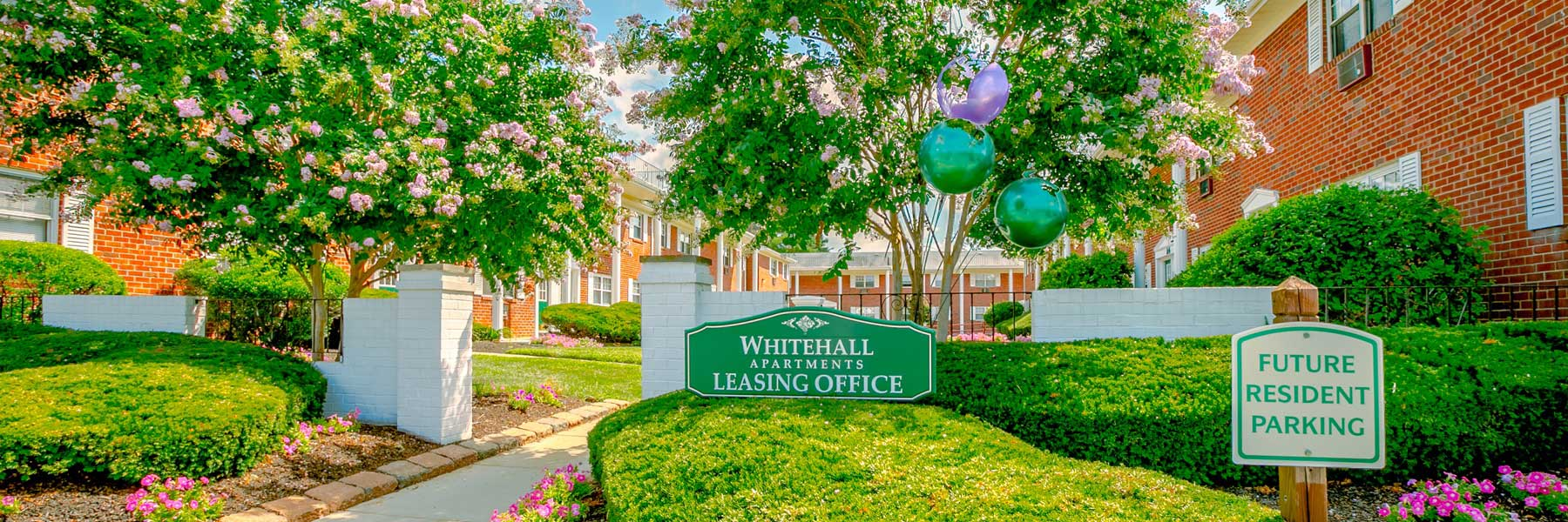 Whitehall Apartments entrance