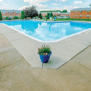 Whitehall Apartments pool